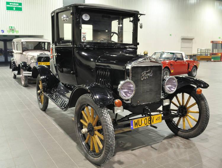 Ford Modelo T. Primer auto de producción en serie.