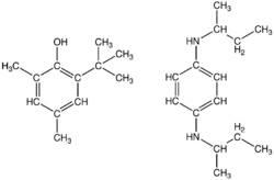 Fórmula química de la gasolina