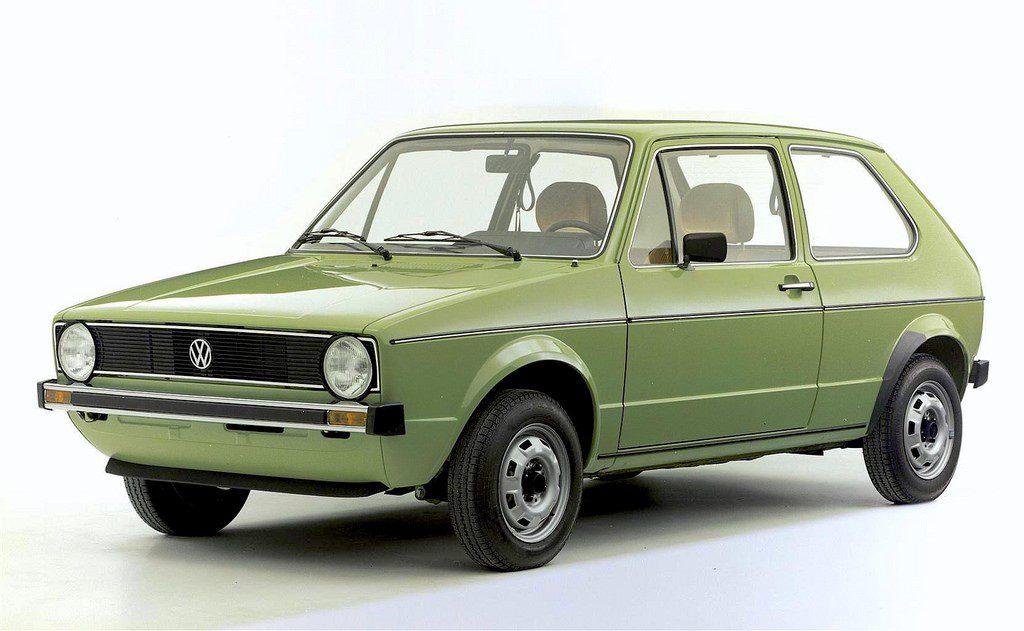 Volkswagen golf 1974, la primera generación de una leyenda