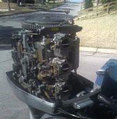 Interior de un motor fuera de borda