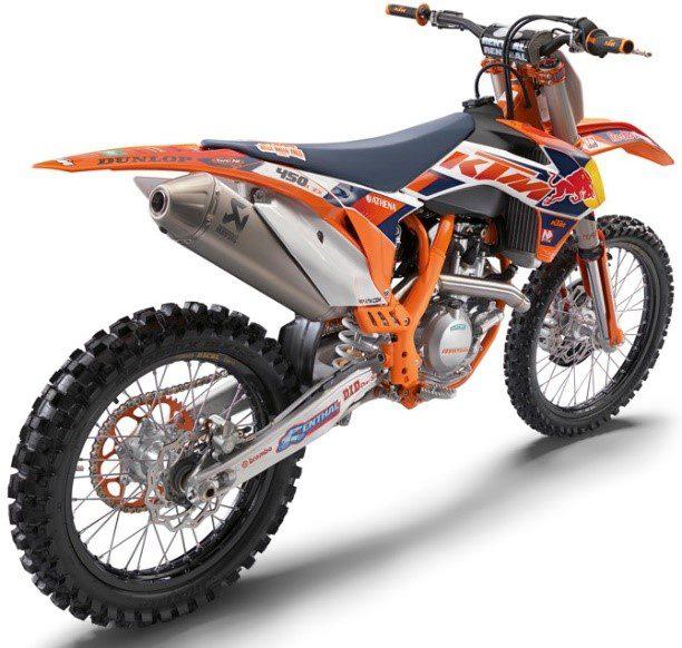 KTM 450cc