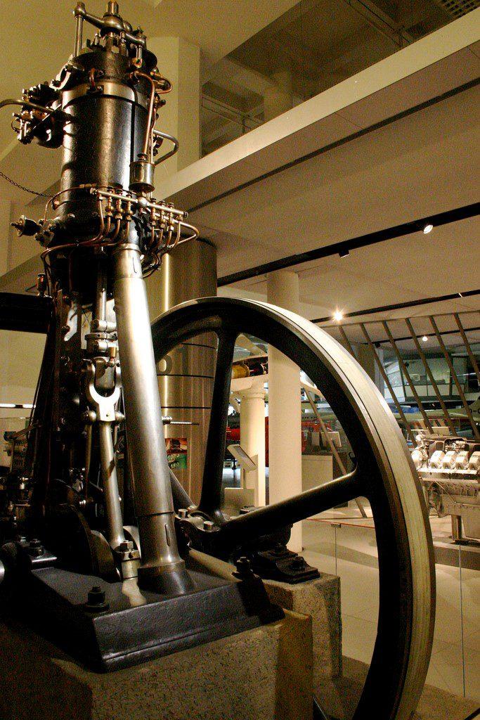 Motor original de Rudolph Diesel