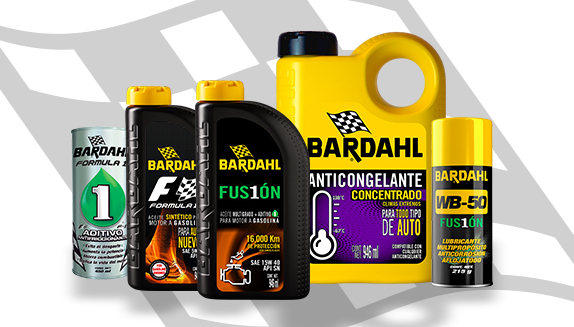 Nuestros productos Bardahl