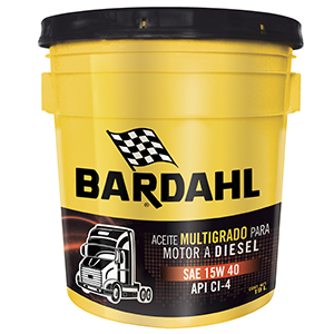 Bardahl Super Diésel Oil MB3 SAE 15W40 API CI-4/SL