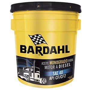 Bardahl F-1 Diésel Oil SAE 40 API CF