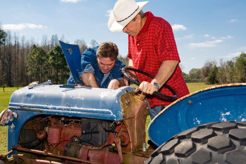 cambio aceite tractor