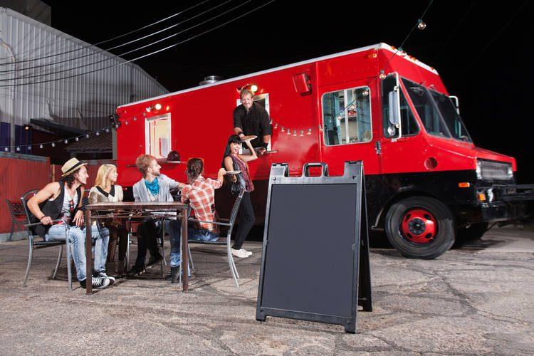Food Truck vinil