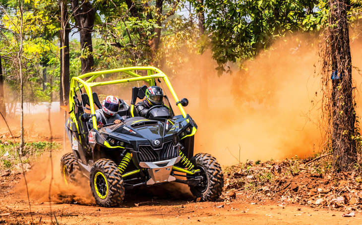 Tierra VTT ATV Problemas Lubricacion