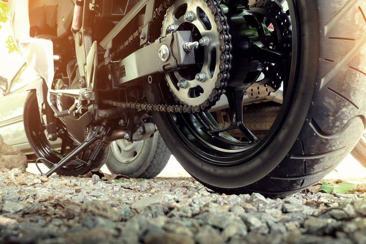 Engrasar Cadena Motocicleta