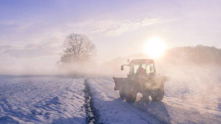 Uso Tractor Invierno