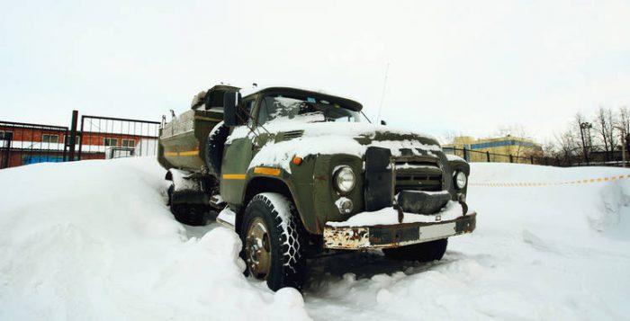 Camión Frío
