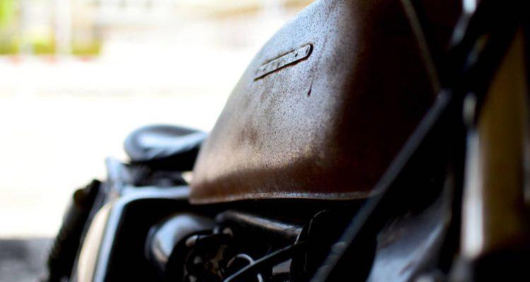 Motocicleta Tanque Óxido