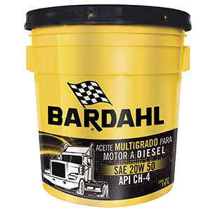 Bardahl Diésel Oil SAE 20W50 API CH-4/SL