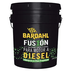 Bardahl Fusión Diesel 15W40 API CI-4 Plus Premium