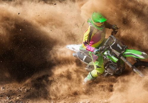 ¿Cómo Lavar las Motocicletas de Motocross?