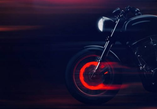 La Motocicleta y los Frenos