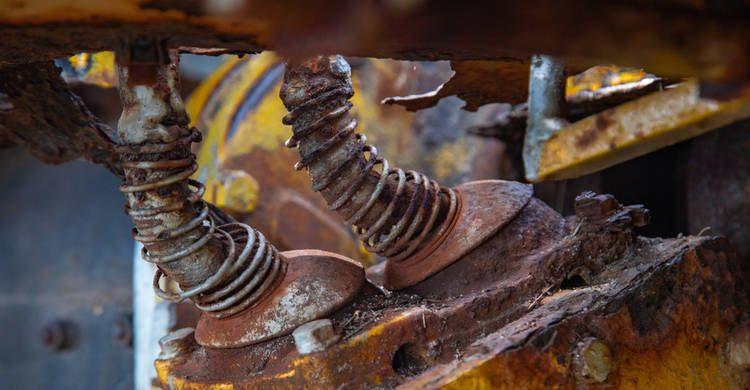 Corrosión Transmisión Tractor
