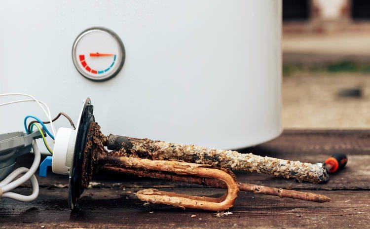 Óxido Calentador Agua Bóiler