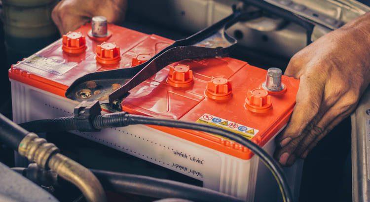 Batería Auto Corrosión