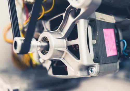 Limpiar el Motor de la Lavadora y Secadora