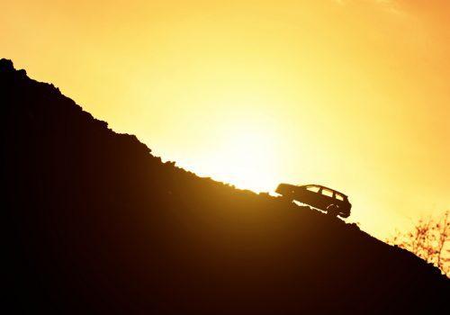 ¿Cómo afectan las subidas al desempeño del auto?