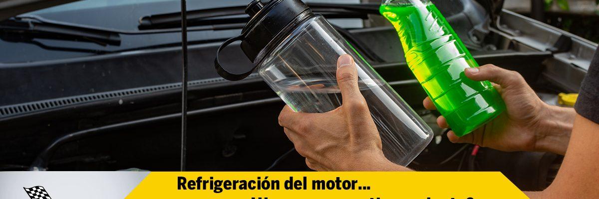 Refrigeración del Motor... ¿Usar agua o anticongelante?