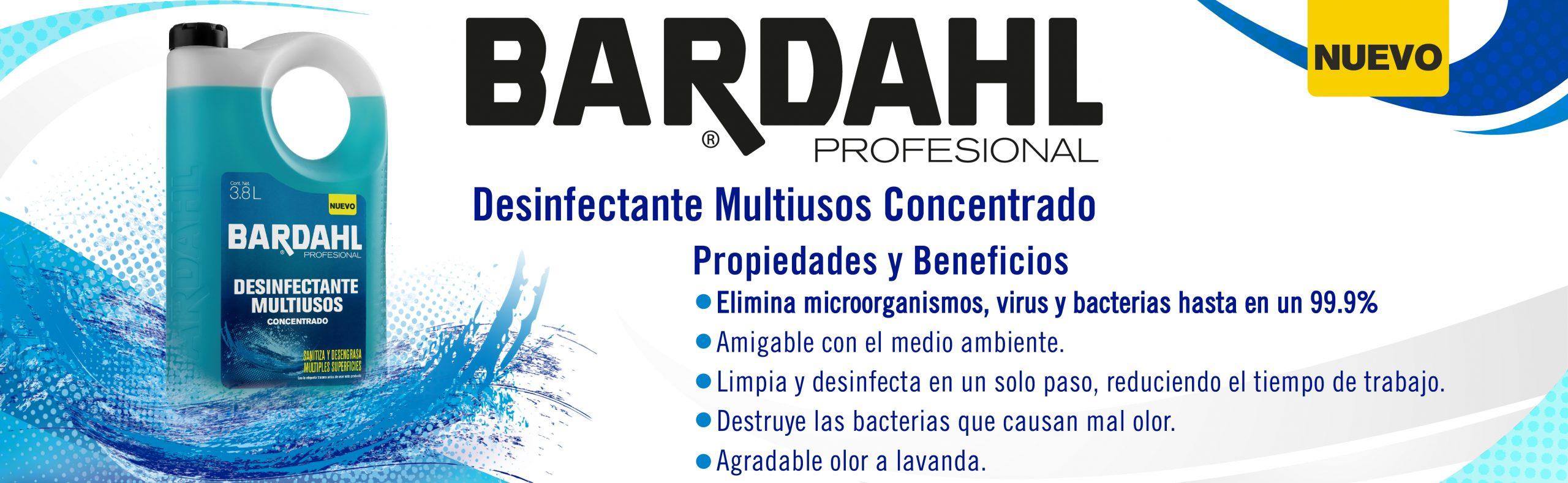 Desinfectante Multiusos Concentrado Bardahl